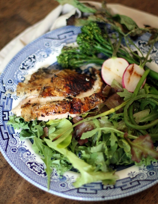 Spring Chicken and Veggies